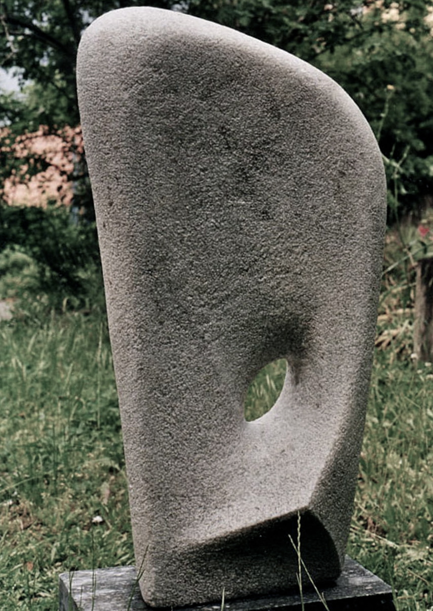 Way through, 1999, marble, height 90 cm