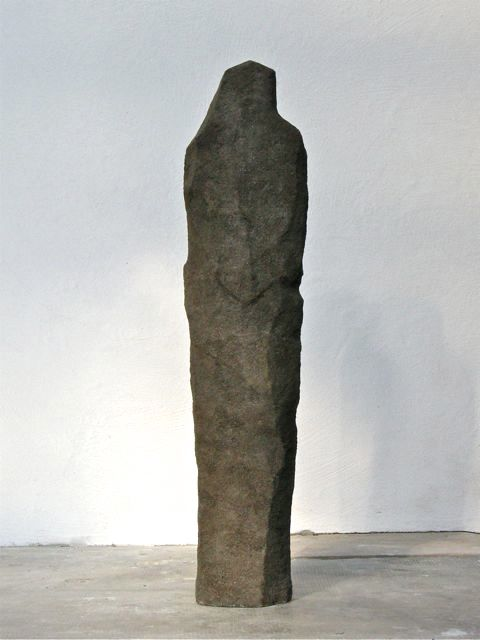 Ancient Shape, 2013, concrete 30 x 18 x 130 cm