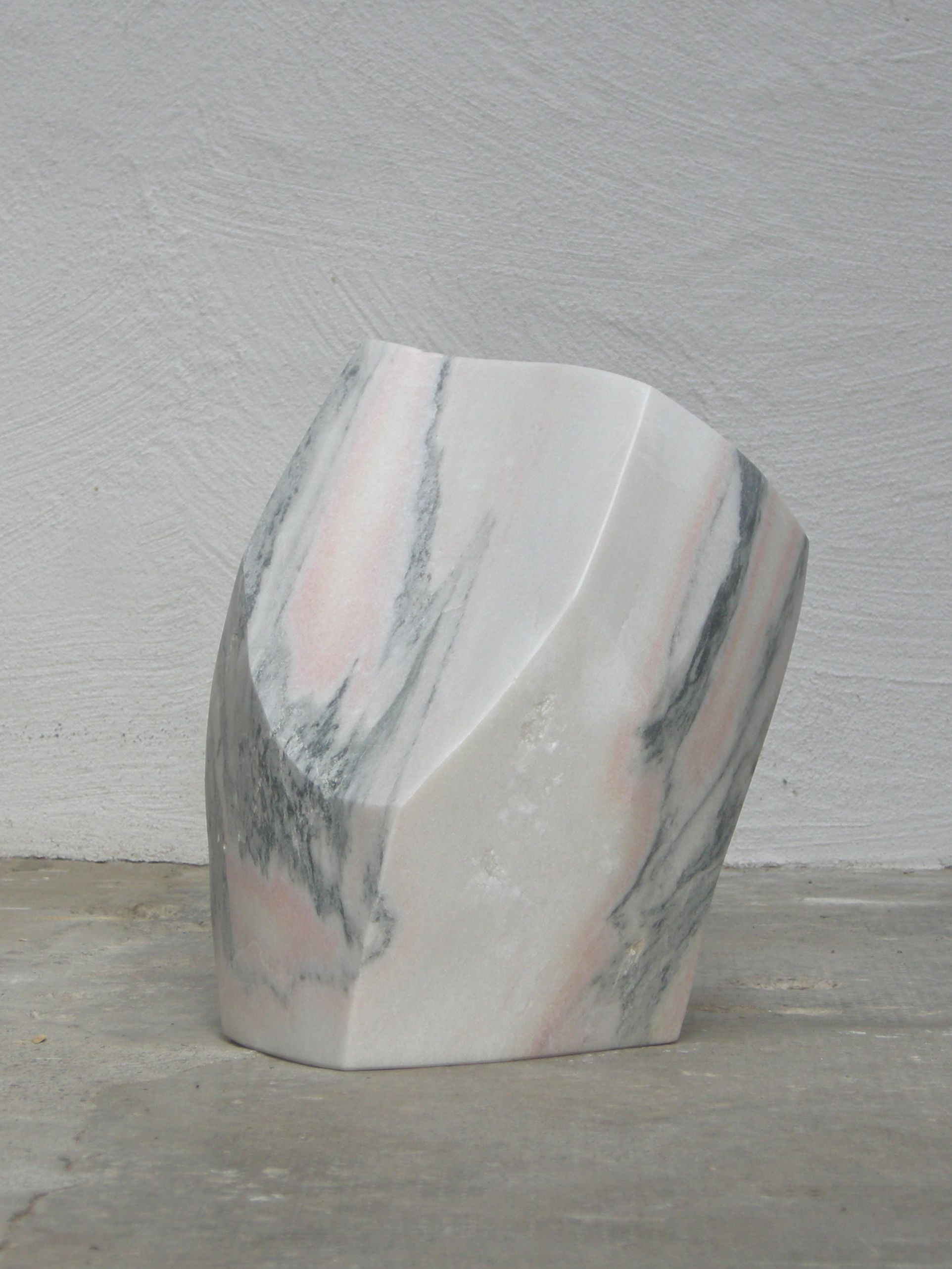 At the outset, 2016, marble, height 45 cm